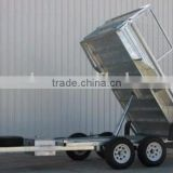 heavy duty strong galvanized utility box trailer