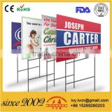 Factory Price UV Stabilised Coroplast Yard Signs, Coroplast Lawn Signs