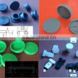 "1/4"" 1/2"" 1"" 2"" silicone rubber cap silicone rubber waterproof dustproof hole plugs"