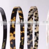 I.mee Eco-Friendly Acetate hair ornaments Hot Plain Fashion Tortoise headband/ Fashion headband