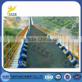 Coal mine roller belt conveyor equipment for truck loading unloading