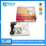 Wholesale price of YL-H09 Skin Care Beauty Facial Brush Massager Scrubber 5 in 1 Electric Face Clean Brush