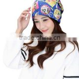 Women's Fashion Cap Plush Headscarf Girls Head Gear Hat