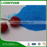 Industrial grade prilled copper sulfate chemical material CS325T