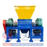 China made CE ISO approved low price scrap metal shredder machine scrap metal tire crusher