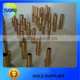Tuopu manufacture brass connectors brass male hose connector hose pipe fitting connector