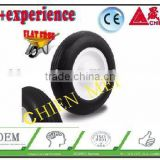 China solid rubber tyre wheel tire/solid tire/wheel rim/wheel barrow tyre/yard cart tire