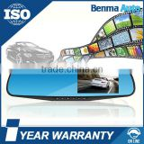 Rearview mirror vehicle video dvr camera traveling data recorder Car hd rearview mirror camera dvr