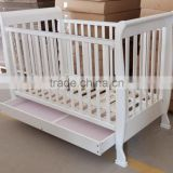 140x70cm multifunctional wooden baby cribs convertible crib