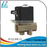 "ISO9001 latest design AC12V 24V 1/4"" 1/4 inch plasma cutter cutting welding machine gas valve magnetic valve"
