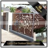 Decorative Laser Cutting Aluminum Panels Perforated Metal Sheet Fence