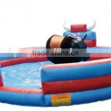 Exciting with high quality inflatable bull riding machine for sale