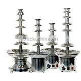 "CHOCOLAZI ANT-8110 CE&RoHS Auger 6 tiers Chinese High Quality 39.5"" electric chocolate fountain for commercial"