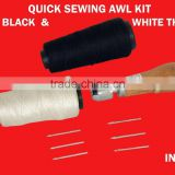 Needle Arts & Craft Speedy Stitcher Sewing Awl Tool Kit for Leather Sail & Canvas Heavy Repair Sewing Tools & Accessory