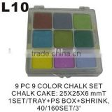 (L10) Colors chalk Chalk Education Supplies