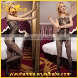 Fantasy first night sexy lingerie sheer nylon bodystocking