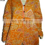 Vintage Kantha Long Jackets Indian Handmade Stitched Kantha Quilted Jackets Wholesale VH03