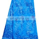 Hot selling turkey blue latest style african dry lace