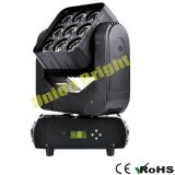 LED 9X10 RGBW Full Color Moving Head Light with Matrix