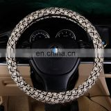 New Designed Coarse Flax Cloth Automotive Steering Wheel Cover