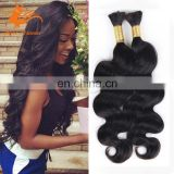 Brazilian Bulk Hair Extensions Without Weft Virgin Braiding Bulk Hair Body Wave No Attachment Human Braiding Hair Bulk