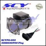 PLUG CABLE FITS for NISSAN 300zx AFM MAF Air Flow Meter HARNESS 22680-30P00 6-PIN 22680-30P00 Plug 2268030P00 Plug