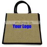 Colourful Reusable Promotion Custom Gift Jute Bag