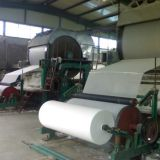 Hot sale jumbo tissue roll manufacturing equipment toilet tissue paper making machine