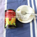 chinese canned whole kernel yellow sweet corn