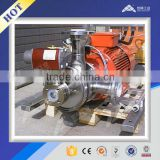 Continuous production high shear emulsifying mixer