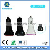 Hot universal custom carcharger for mobile phone Factory Supply China Universal 3.1A Dual USB charger