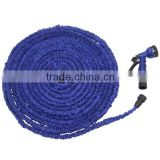 50ft 75ft EXPANDING50FT 75FT 100FT EXPANDABLE FLEXIBLE Garden Hose Pipe with Multifunction Spray Gun Nozzle Blue