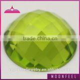 flat back gemstone beads faceted glass cabochons