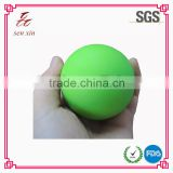 factory hot selling logo print rubber foam ball