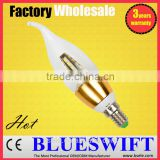 3w Candle Glass LED E14 Bulb