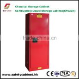 Metal safety storage cabinet with Double wall construction 38mm insulating air space