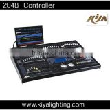 HOT! 2048 DMX Controller with Screen Controller Professional Stage Light Wholesale DJ Controller