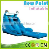 New Point inflatable water slides for summer,inflatable slide games for children,inflatable water slides for kids