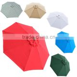 9foot 8 Ribs outdoor Umbrella cover Canopy Replacement