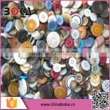 Random Mixed Resin Sewing Buttons Scrapbooking Button