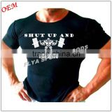 mens plain slim fit bodybuilding wear gym singlet t-shirts                                                                         Quality Choice