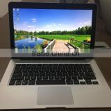13.3 inch silver white /colored intel i3 wholesale laptops with 500gb with2gb