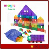 Hot Sales Learning Building Blocks Kids Building Block Toys 154 Pcs Plastic Building Block Set