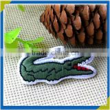 custom garment jacquard crocodile sew sport embroidery letter patches for caps                                                                         Quality Choice