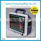 12.1 inch TFT Display Medical Portable Multi-parameter Patient Monitor China(PPM-T1800)