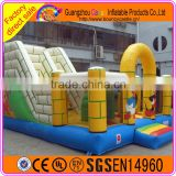 2016 hot sale inflatable jumping castle, playing castle inflatable bouncer, inflatable combo inflatable toy
