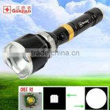 GOREAD C65 High bright R2 LED aluminum zoom police flashlight