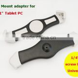 "New Popular Universal Selfie Sticks Tripod Clip Mount Tablet Cradle Adapter for iPad mini iPad air 7-11"" tablet pc"