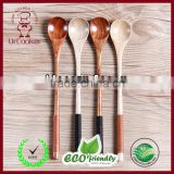 Cherry Wood Flatware Japanese Wooden Spoon
