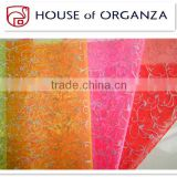 Beautiful Decorative Bronzing Organza